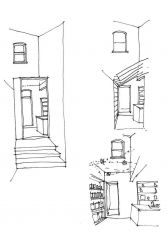 News_Riffel_outside sketch Sophie Bates Architects
