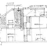 Publisher's house London architect section