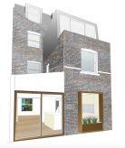 Gardenhouse Rear Elevation Sophie Bates Architects London