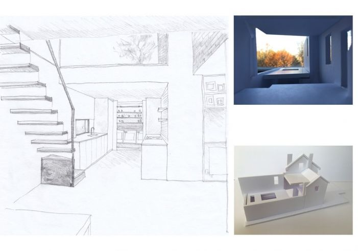 Sophie Bates Architects_Hazel sketches and model.jpg