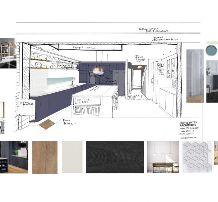 Sophie Bates Architects Kitchen design extension surrey.jpg