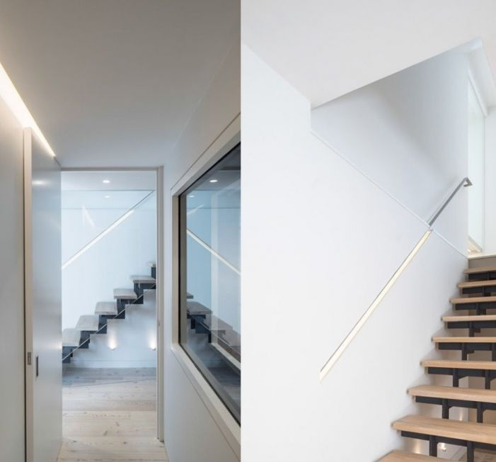 Light House Sophie Bates Architects  Contemporary Basement Stair
