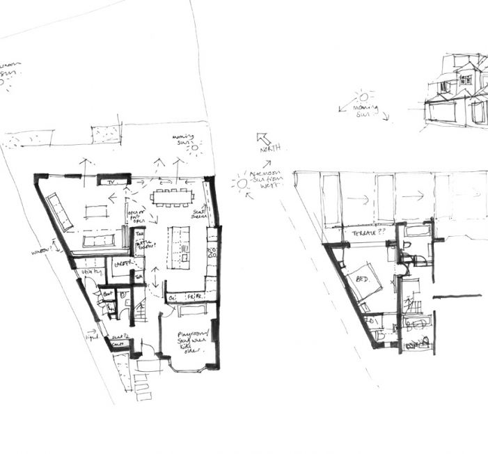 Sophie Bates Architects sketch plan extension surrey.jpg