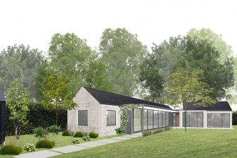 Sophie Bates Architects new build house surrey flint slate.jpg